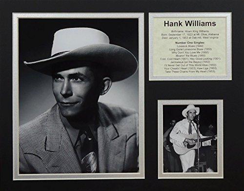Hank Williams Sr. 11'' X 14'' Unframed Matted Photo Collage By Legends Never Die, Inc. by Legends Never Die