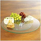 Tempered Glass Lazy Susan 10'' Round