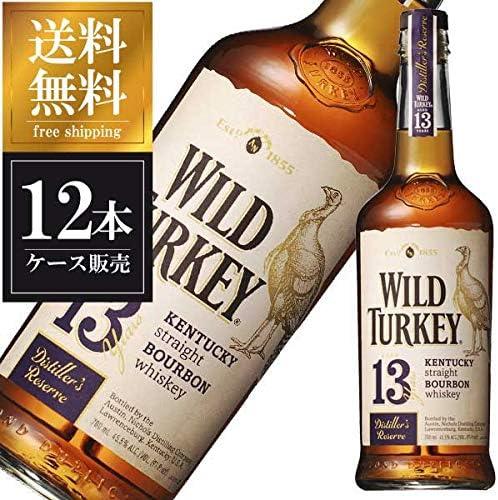 ワイルド ターキー 13年 ディスティラーズ リザーヴ 45度 700ml x 12本 (ケース販売) [WILD TURKEY(R)/アメリカ/バーボン/ウイスキー]
