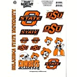 Game Day Outfitters NCAA Oklahoma State Cowboys Full Page Vinyl Sticker