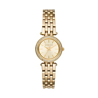 21f2d5be43f32 Amazon.com  Michael Kors Women s Darci Gold-Tone Watch MK3295 ...
