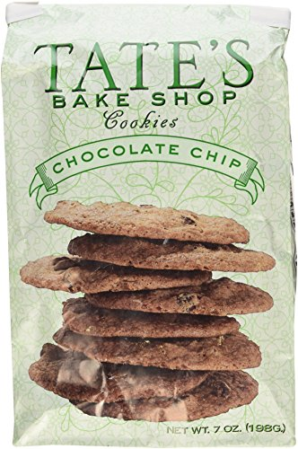 Tate's Bake Shop Chocolate Chip Cookies, 7oz Bag, Pack of 3 (Best Icebox Cookies Recipe)