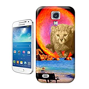Animal painting patterns Self Preservation for samsung galaxy s4 case cover factoyonline