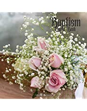 """Baptism Guest Book: Keepsake Message Book With Gift Log & Photo Pages, For Family And Friends, Guest Register To Write Sign In, For Use At Christening, Naming Ceremony, Baby Dedications, Church, Home, Party Wishes And Comments, 8.5""""x8.5"""" Papeback"""