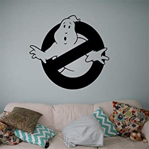 Filras Vinyl Peel and Stick Mural Removable Wall Sticker Decals Ghostbusters Decor for Kids Room Decor Anime Bedroom 12.1x12.1 inches