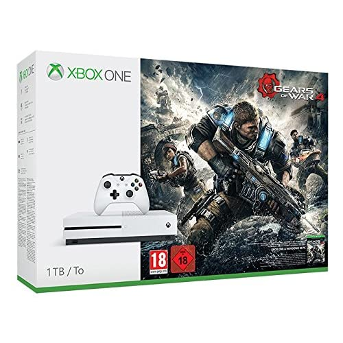 Xbox One S Gears of War 4 Console Bundle 1TB