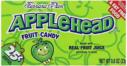 Apple Candy - Ferrara Pan Appleheads Boxes (Pack of 24)