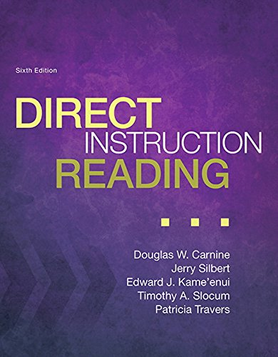 Direct Instruction Reading, Enhanced Pearson eText with Loose Leaf Version -- Access Card Package (6th Edition) (What's New in Special Education)
