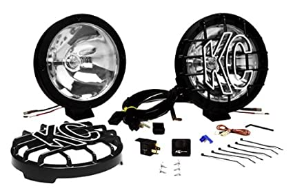 Fine Amazon Com Kc Hilites 801 Rally 800 Series Black Coated Stainless Wiring Cloud Hisonuggs Outletorg