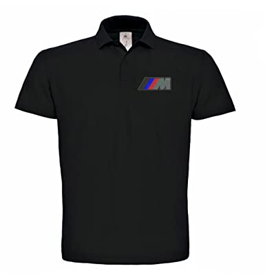 M. Power BMW Fun Coche Polo Bordado 100% algodón Polo de Golf para ...