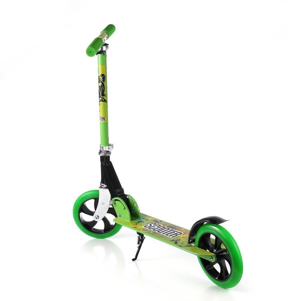 Scooter Para Niños, OUTAD Patinete Plegable Ruedas grandes 200mm con altura ajustable y carga máxima