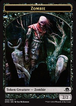 - Magic: the Gathering - Zombie Token (004) - Eldritch Moon