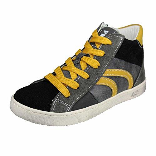 Primigi Jungen Stripe Hohe Sneakers Schwarz Kombi