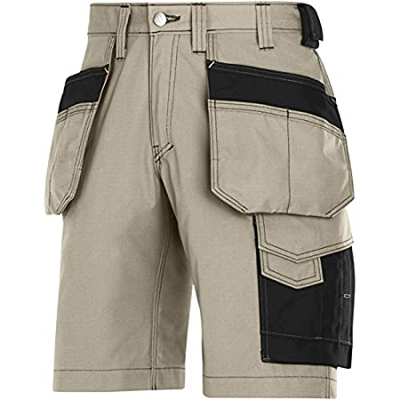 Snickers 30239504044 Rip-Stop artisan shorts with holster pouch size 44 navy blue