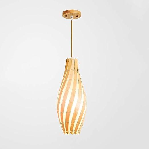 Lámpara moderna japonesa, lámpara de viento industrial ...