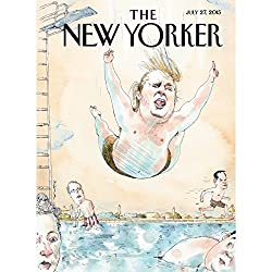 The New Yorker, July 27th 2015 (Robin Wright, Jeffrey Toobin, Adam Gopnik)