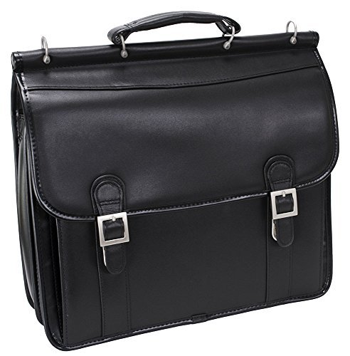McKlein USA Halsted Double Compartment Laptop Case 80334