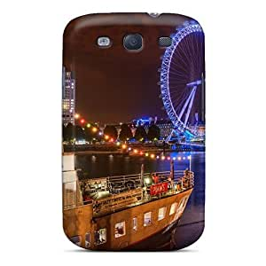 Fashionable QdUKMCa222uapoF Galaxy S3 Case Cover For London At Night Protective Case