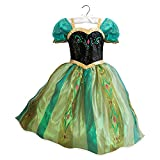 Disney Frozen Dress Up Anna Costume for Girls Kids Coronation Princess (Size 9 10)