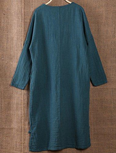 MatchLife - Vestido - vestido - para mujer azul marino