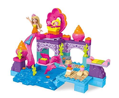 Mega Construx Barbie Mermaid Lagoon - Center Shopping Dolphin