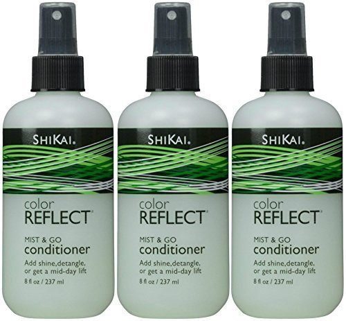 ShiKai Color Reflect Mist & Go Conditioner, 8-Ounces (Pack of 3)