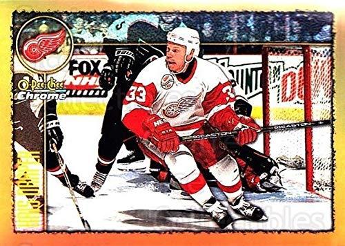 ((CI) Kris Draper Hockey Card 1998-99 O-Pee-Chee Chrome Refractors 168 Kris)