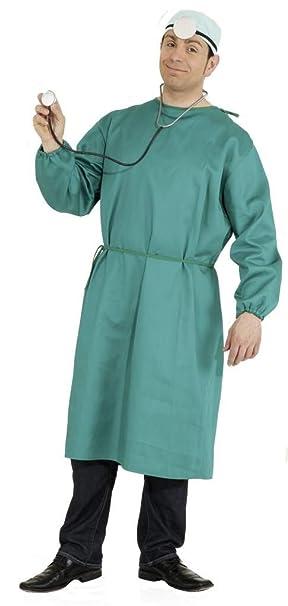 ORLOB Batas Disfraz de médico para Hombre, Talla única