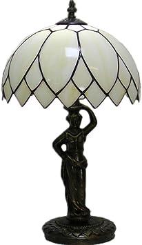 Tiffany Style Lámpara de mesa Lámparas de noche Lámpara de lectura ...