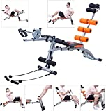 K&A Company Multi Functional Twister AB Rocket Abdominal Trainer Bench Stepper New Gym Exercise Fitness Orange