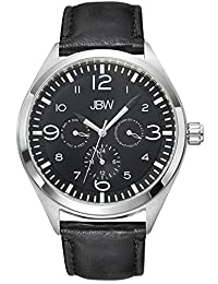 JBW Men's J6310B Analog Display Japanese Quartz Black Watch