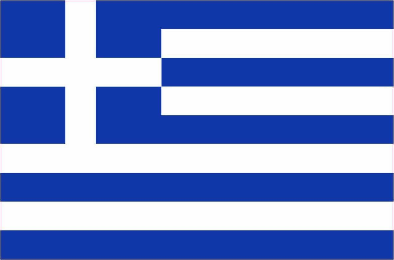 KEFALONIA /& ITHACA Ionian Islands Greece Greek Vinyl Bumper Sticker Decal