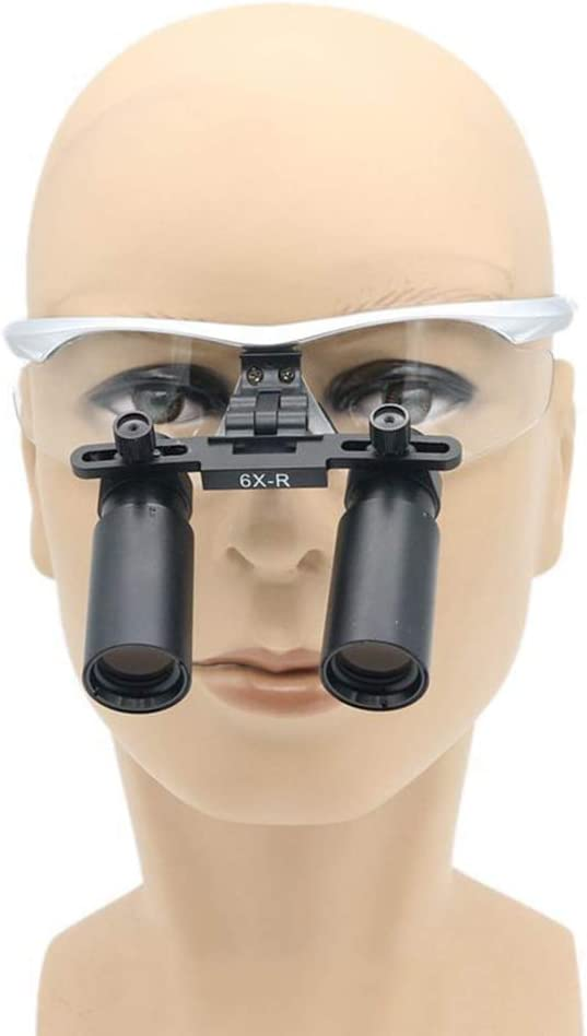 6X Surgical Binocular Loupes Optical Gla…