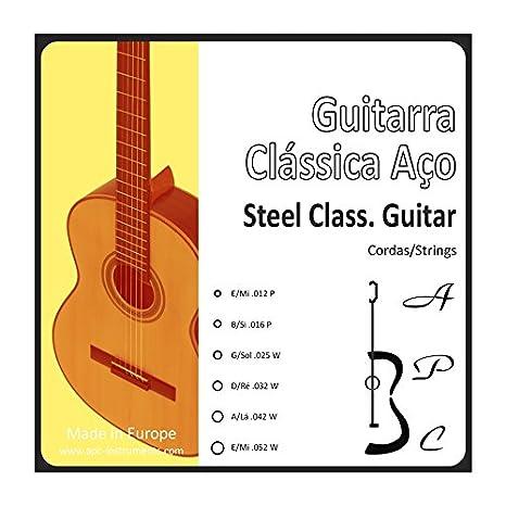APC CORGTC ST - Cuerdas para Instrumento:Guitarra clásica - acero ...