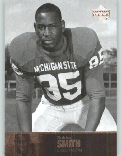 - 2011 Upper Deck College Legends Football Cards #11 Bubba Smith - Michigan State Spartans