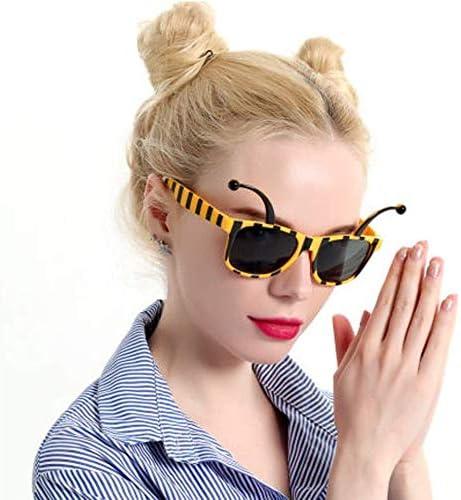 Verres de f/ête Abeille Fournitures de f/ête d/écoratives pour Le Carnaval pour aux Adultes et aux Enfants AIN des Lunettes de Soleil