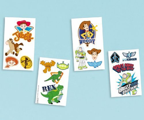 Party Favors 16/Pkg-Disney Toy Story Tattoo by Notions - In Network -
