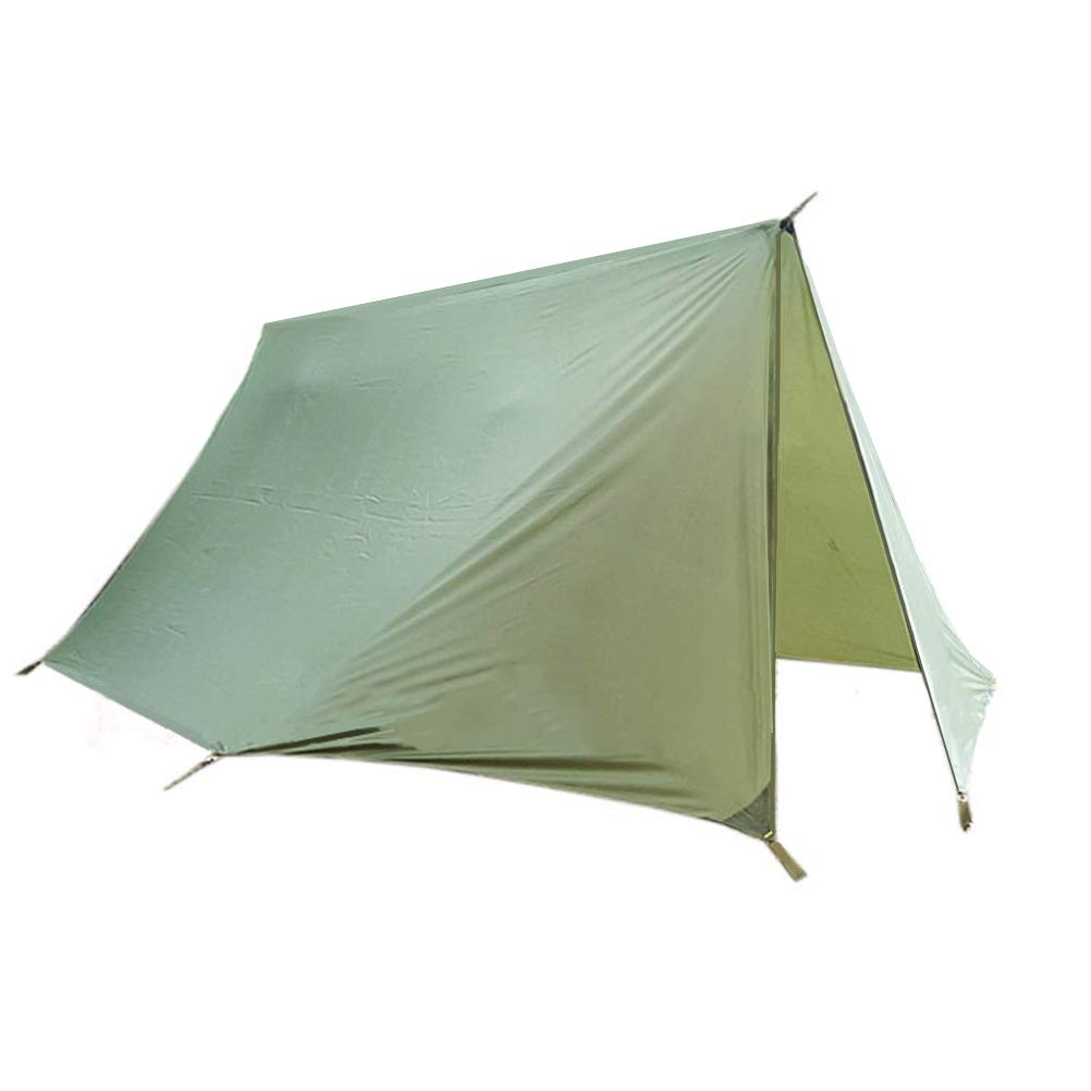 Preself Hammock Tarp with Doors 1 Person Rainfly Canopy Rodless Camping Tent Backpacking Hiking Mountaineering (Not Include Stakes & Guylines) by Preself