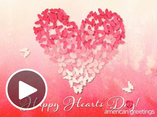 Butterfly Heart Valentine (Animated) eGift card link image