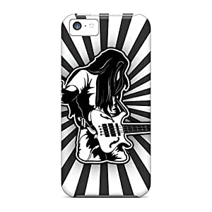 Casecover88 OoG18858LKRg Cases For Iphone 5c With Nice Heavy Metal Rocker Appearance