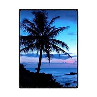 Custom playa alfombrillas duradero y cómodo Hawaii Palm Beach manta 78x 60cm