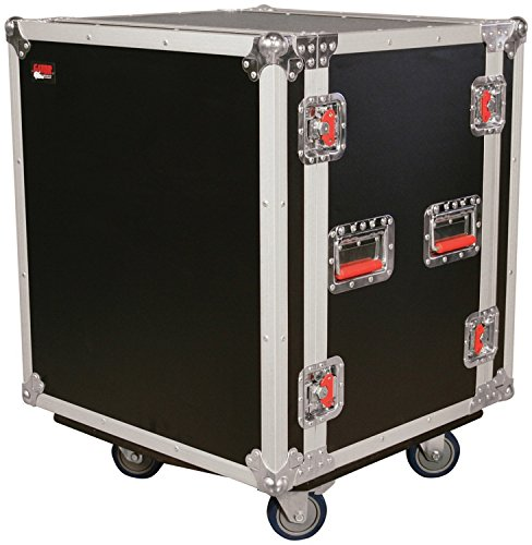 o Road Rack Case with Casters (G-TOUR SHK12 CA) (Shock Mount Rack Case)