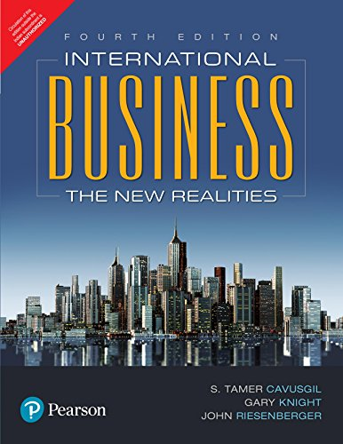 International Business: The New Realities 4Th Edition (International Business Strategy Management And The New Realities)