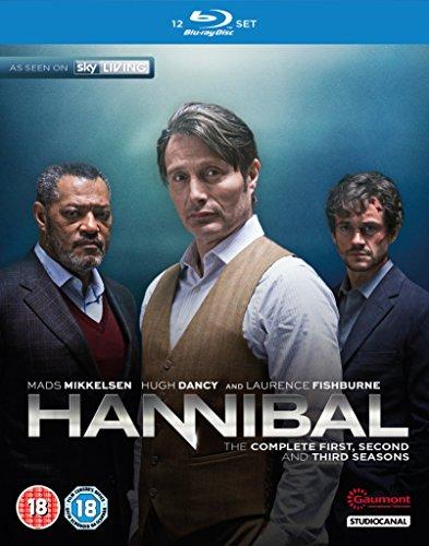 Hannibal (Complete Seasons 1-3) - 12-Disc Box Set ( Hannibal - Seasons One, Two & Three (39 Episodes) ) [ NON-USA FORMAT, Blu-Ray, Reg.B Import - United Kingdom ]