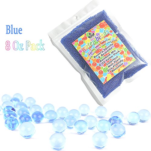 AINOLWAY 8 OZ water beads, Original Size Water Gel Bead