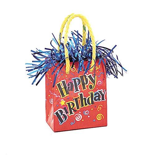 (Happy Birthday Balloon Weight)