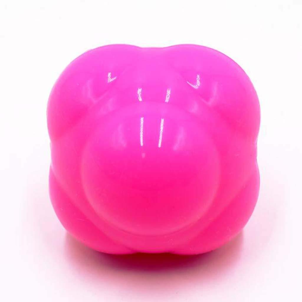 Toygogo Geschwindigkeits Trainingsb/älle Hexagon Reaktionsball Fitness Massageball