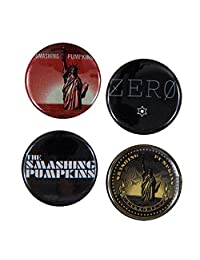 Smashing Pumpkins - Albums 4 Pack Button Set