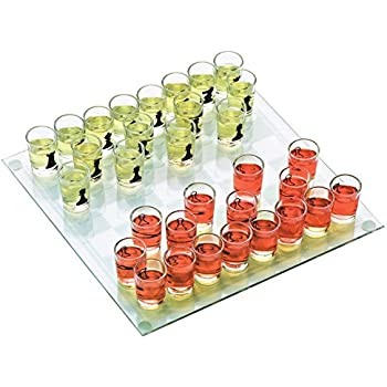 Drinking Shot Glass Chess Set