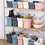 Scatola-di-immagazzinaggio-di-plastica-domestica-organizzatore-per-accessori-da-cucina-cestino-di-immagazzinaggio-della-cucinarack-salvaspazio-bagno-mensola-colore-blu-navy-S